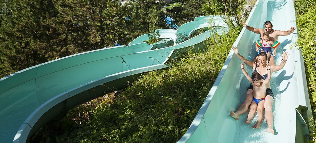Alpine Thermal water-slide