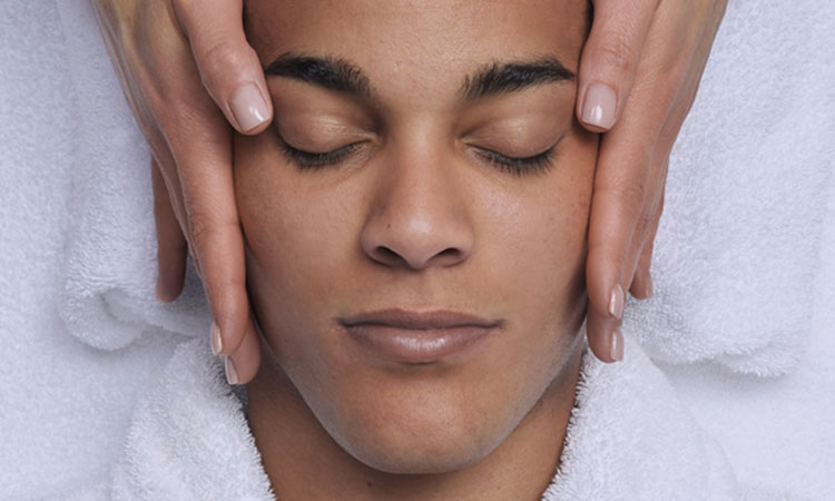 Basic facial for men