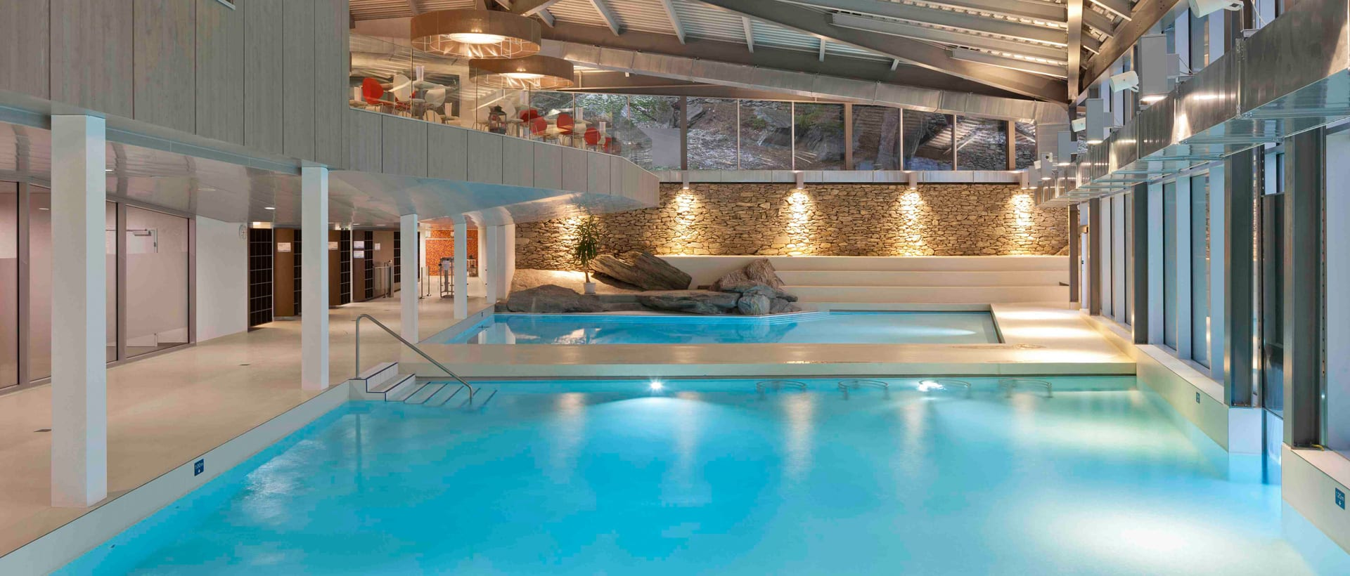 Thermal indoor pools