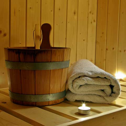 Sauna infusions and peelings